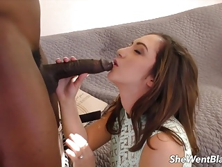 Teen Lily Jordan Hammered by Black Cock
